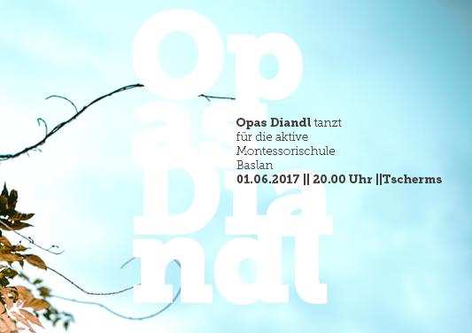 Flyer Opas Diandl Konzert